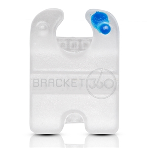 CERAMIC BRACKET ROTH 022  PREMOLAR 24-25 HOOK