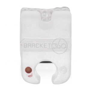 CERAMIC BRACKET ROTH 022  PREMOLAR 44  HOOK