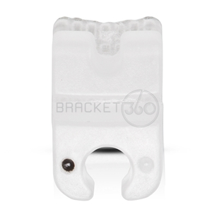 CERAMIC BRACKET ROTH 022  PREMOLAR 45 HOOK